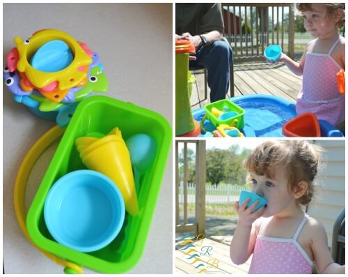 Water Table Sensory Fun