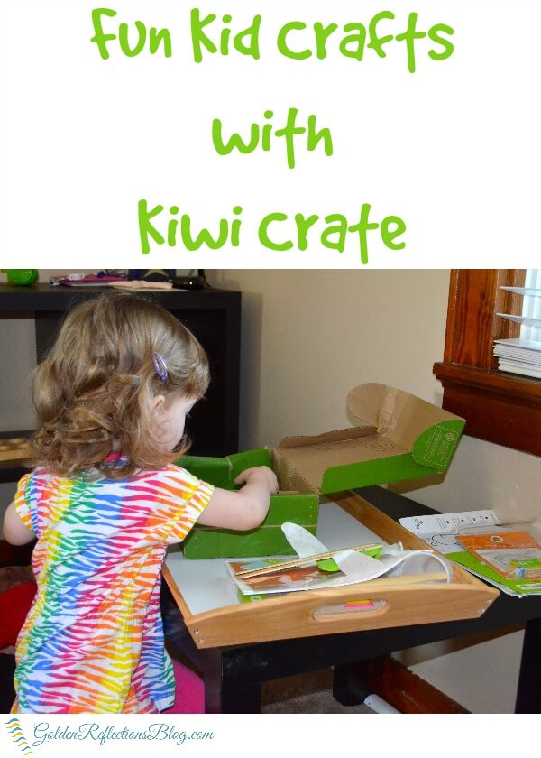 Fun kids crafts with Kiwi Crate