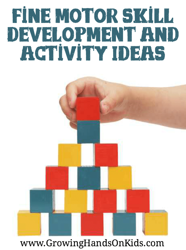 fine motor skills development activities