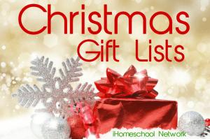 Christmas gift lists with the iHomeschool Network