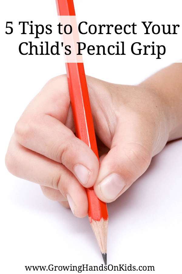 5 Tips to Correct Your Child's Pencil Grip