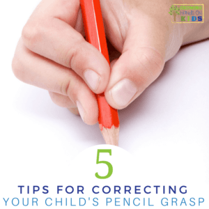 5 tips for correcting your child's pencil grasp.