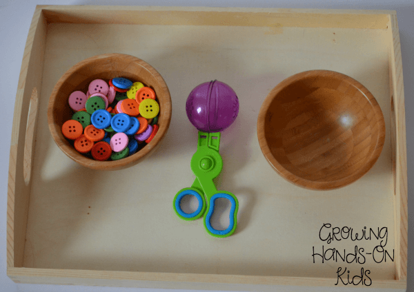 Bead transfer with bubble tongs