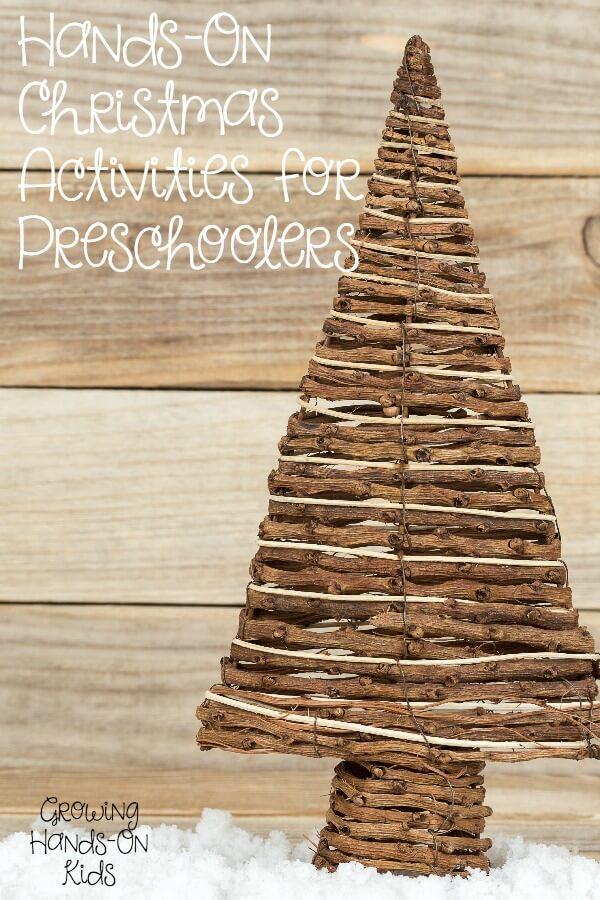 Hands-on Christmas activities for preschoolers