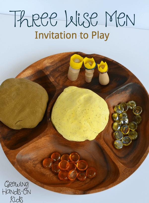 Three wise men invitation to play
