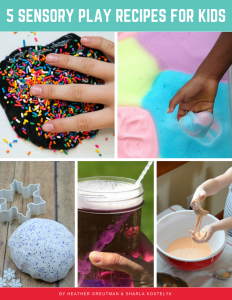 5 sensory play recipes for kids