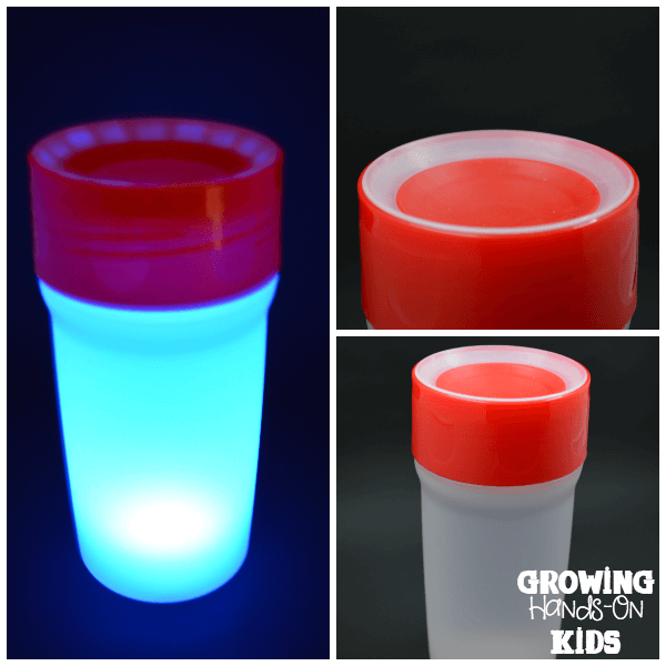 A perfect no-spill drink solution with LiteCup USA, even has a built-in nightlight!