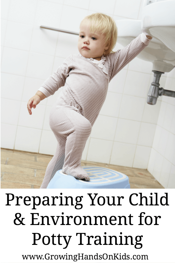 Preparing your child and environment for potty training