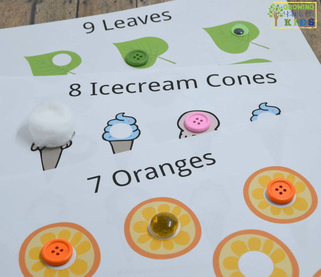 12 hands-on ways to use do-a-dot printables with preschoolers.
