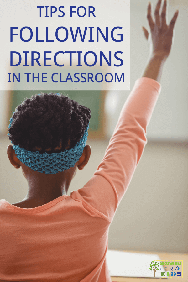 Tips for following directions at home and in the classroom