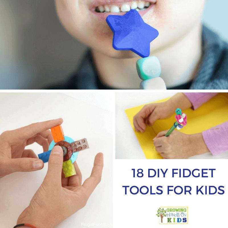 18 DIY Fidget Tools for Kids