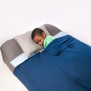Snuggle Sheets from Fun and Function. Sensory Tools Gift Guide for Kids.