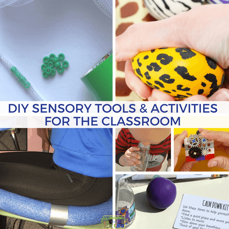 DIY Sensory Tools and Activities for the Classroom.