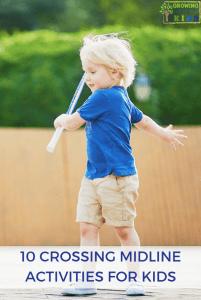 10 Crossing Midline Activities for Kids.