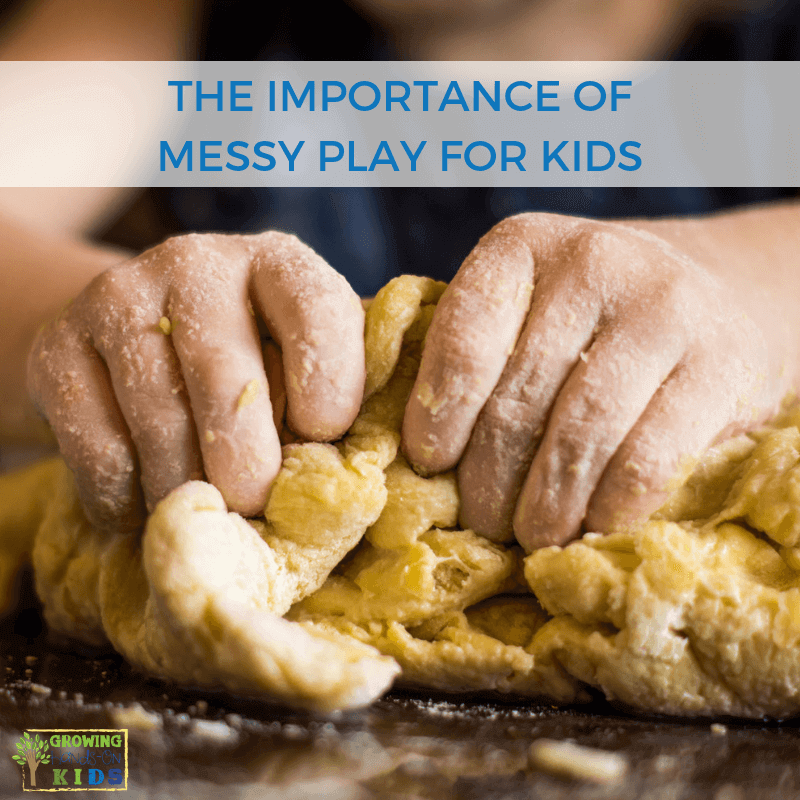 Importance of Messy Play for Kids with Messy Play Kits.