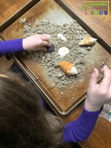 Importance of Messy Play with Messy Play Kits, Oceans kit.