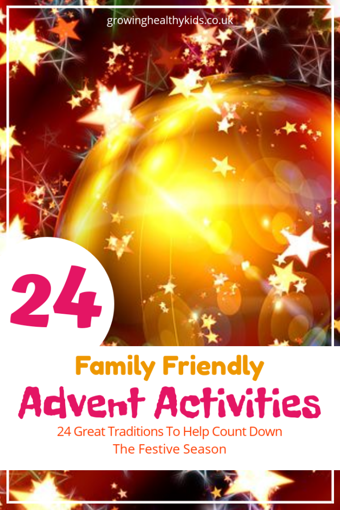 Advent activities for all the family.