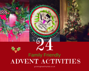 24 Family Friendly Advent Activities. A perfect way to count down to the festive season,crafts, activities, snacks and gift ideas to make.