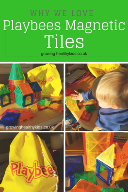Product Review Playbees Magnetic 3D tiles