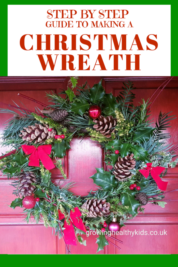 STEP BY STEP GUIDE TO MAKING A CHRISTMAS WREATH