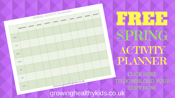 Free Spring Activity Planner