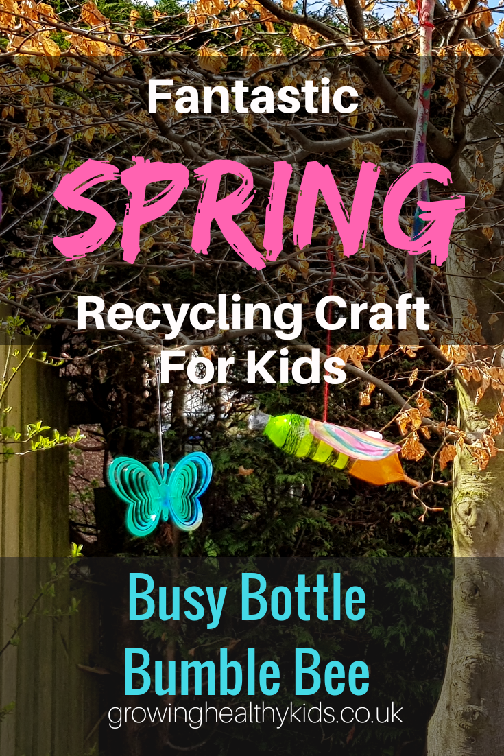 Spring Recycling craft