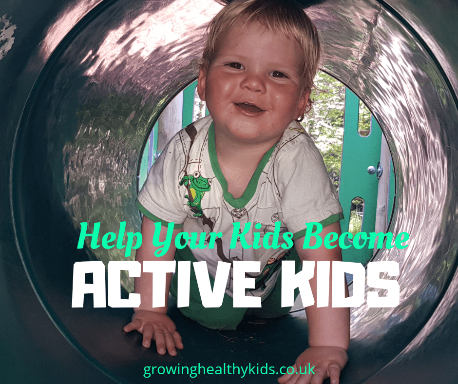 Active kids have fun in Autumn