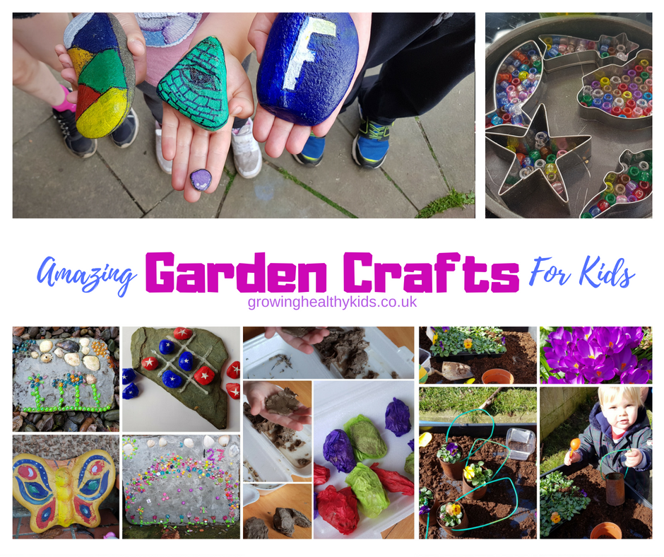 Garden Crafts for Kids.