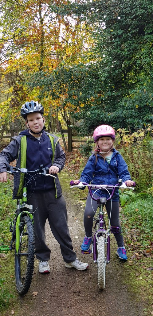 Riding your bike in autumn is just one activity