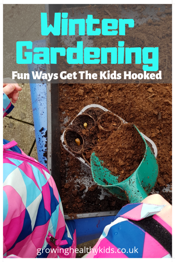 Winter gardening activities are perfect for keeping the kids entertained while introducing them to the world of growing.