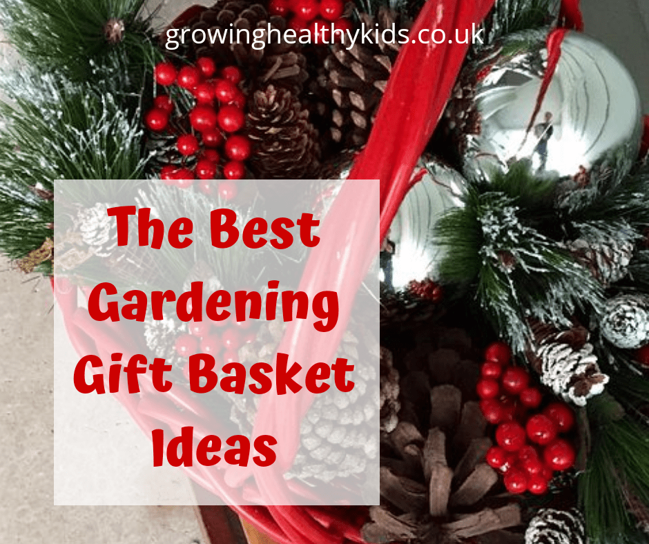 Christmas is a wonderful time to give a gift basket and what better than to give a gardening themed gift basket. Perfect for mums, dads neighbours or kids!
