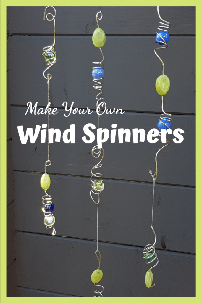 A great garden craft for kids. Kids gardens need to be fun of fun and whimsey. Learn how to make wind spinners here.