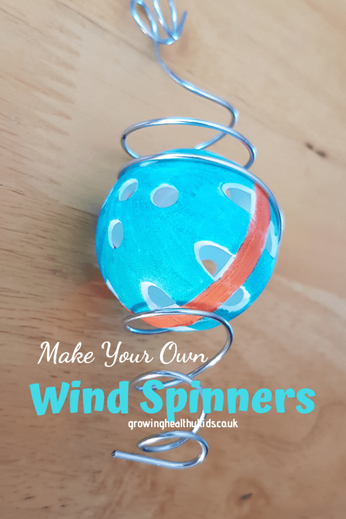 Learn how to make amazing marble wind spinners for your childrens garden.