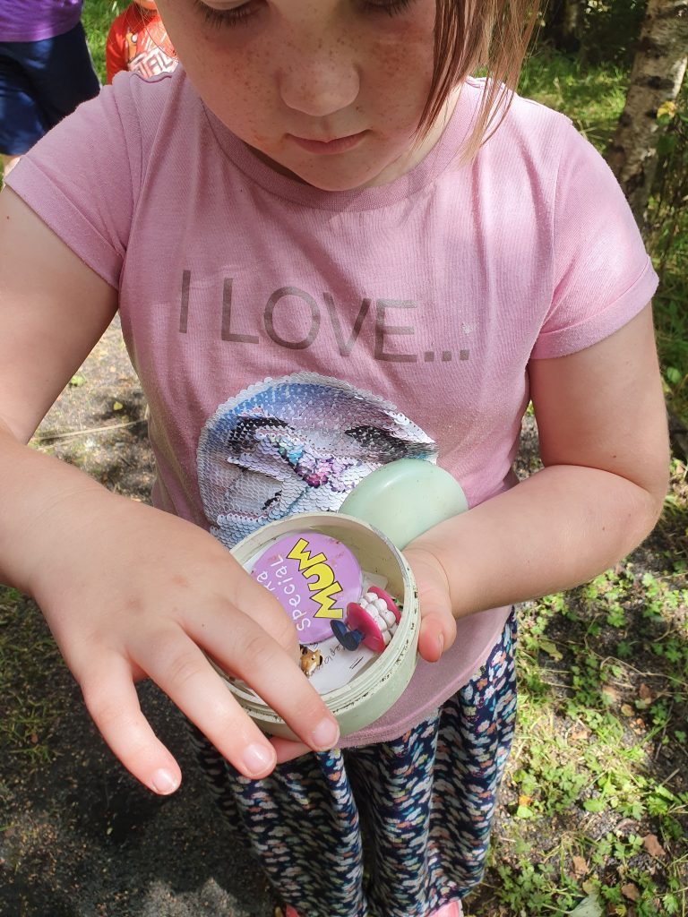 Geocaching is a fun outdoor activity to try in autumn