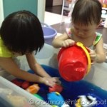 Letter O – Ocean Theme Sensory waterplay