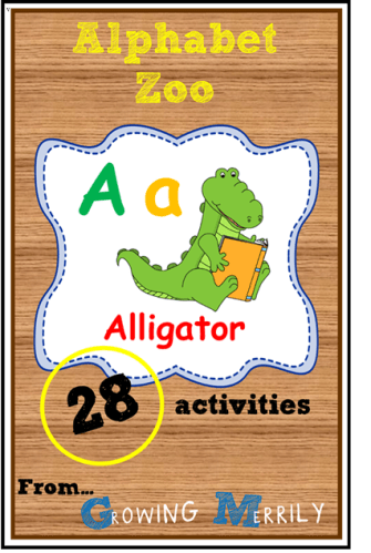 Alphabet Zoo – A for Alligator