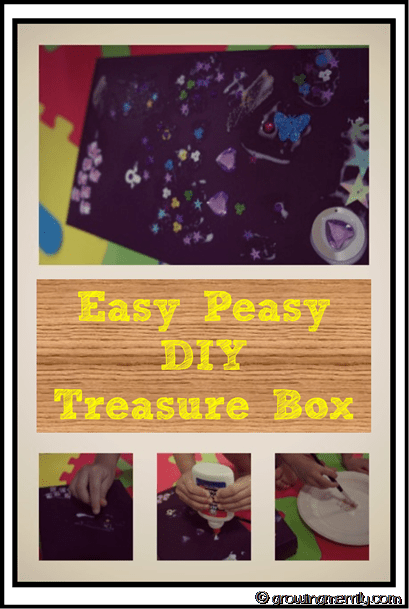 Easy Peasy DIY Treasure Box