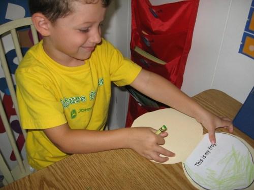 frogs nature study   frogs file folder book   mini books   lapbooks