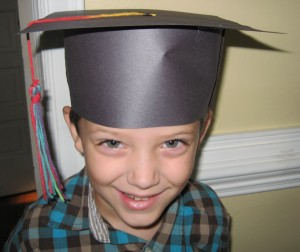 kindergarten graduation, homeschool style