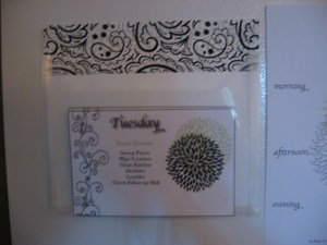 Cleaning Routine cards