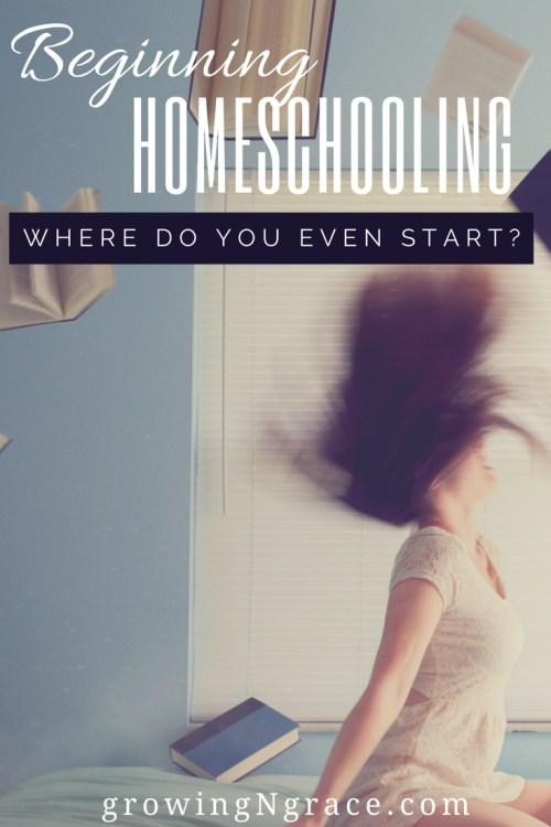 beginning homeschooling | how to get started