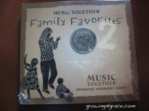 music and movement | Music Together Family Favorites 2 review
