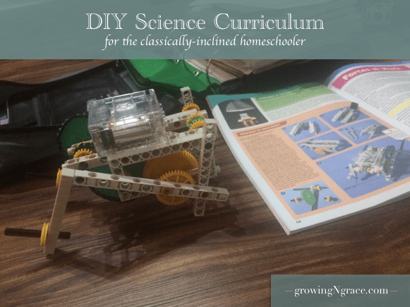 DIY science curriculum | classical science | classical homeschooling | DIY homeschool curriculum