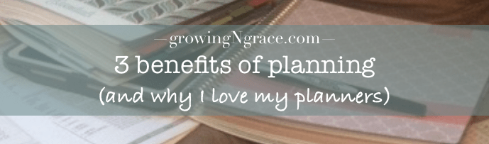 benefits of planning | planning 2017 | planners for moms | plum paper planner review