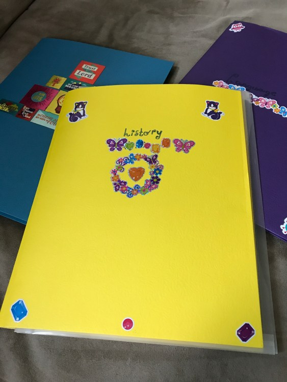 homeschool organization | make your own student notebooks