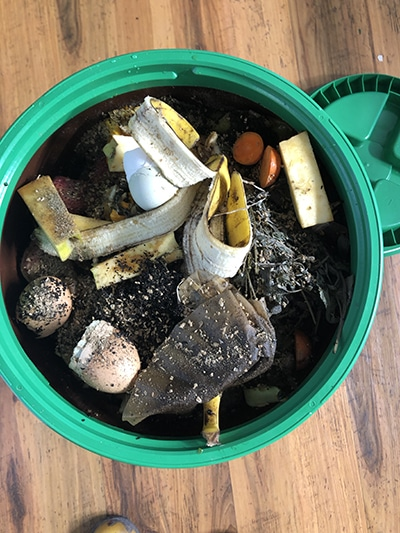 composting with bokashi