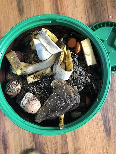composting with bokashi