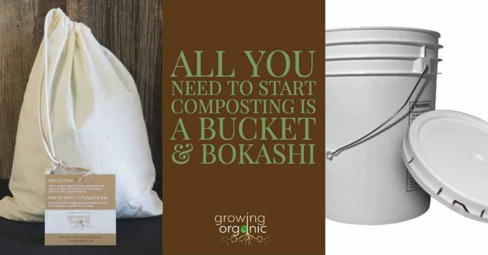 how to make a bokashi bucket