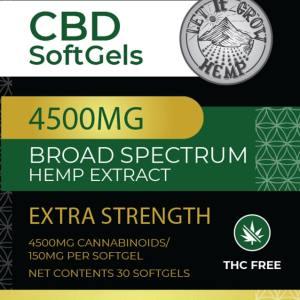 high strength cbd capsules