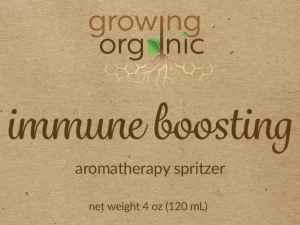 immune boosting aromatherapy spray